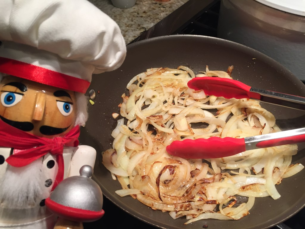 How to caramelized onions