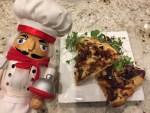 Pepe with duck pizza