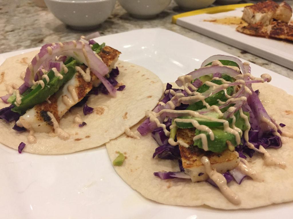 halibut fish tacos