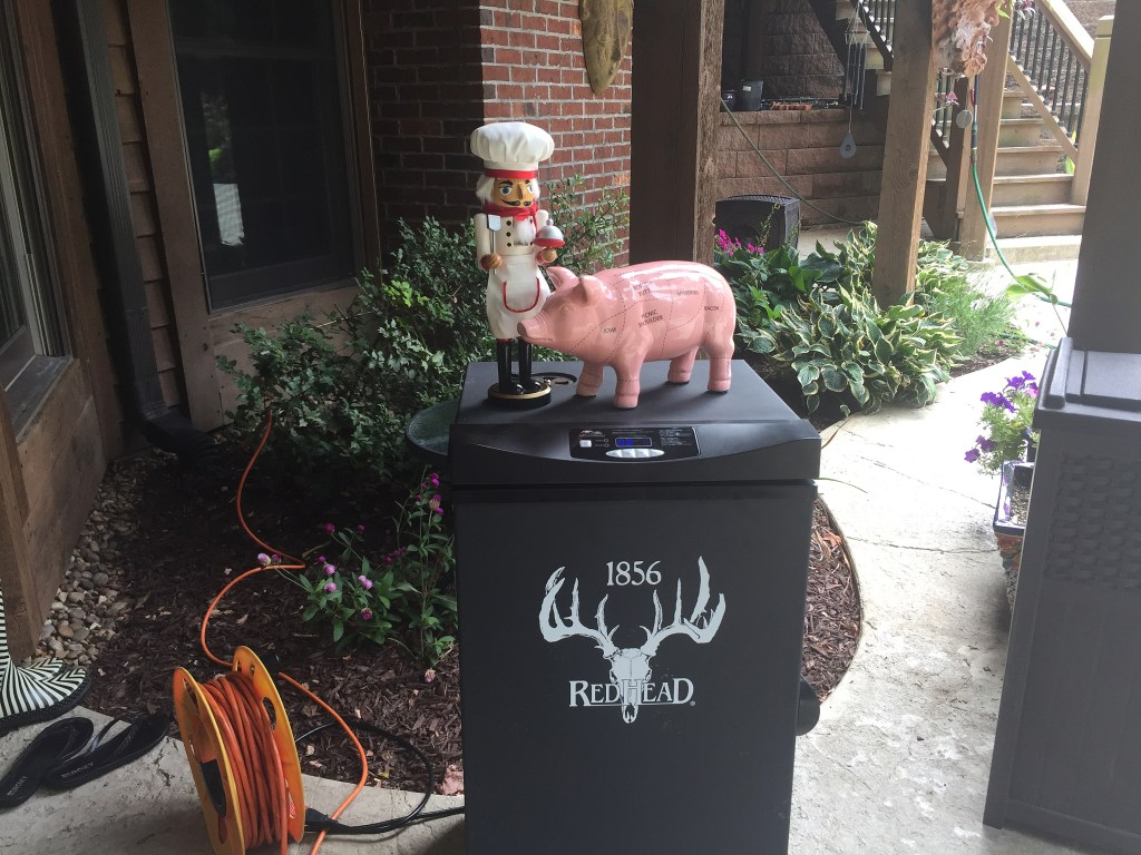 red head electric smoker