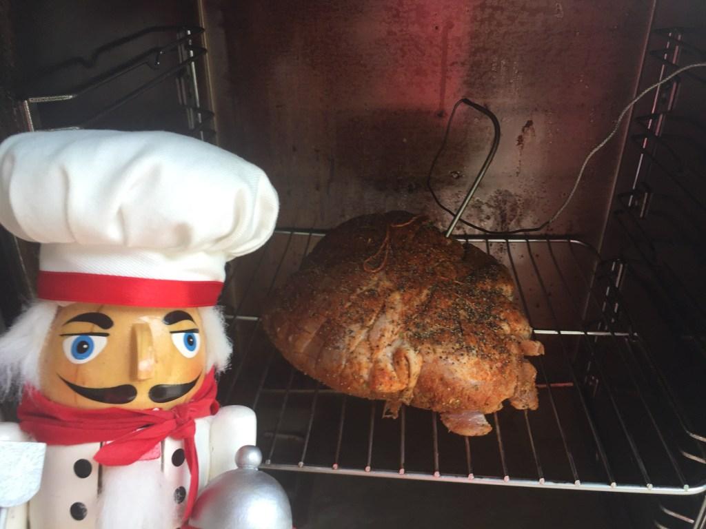 smoke pork shoulder