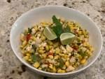 Jicama and Corn Salad