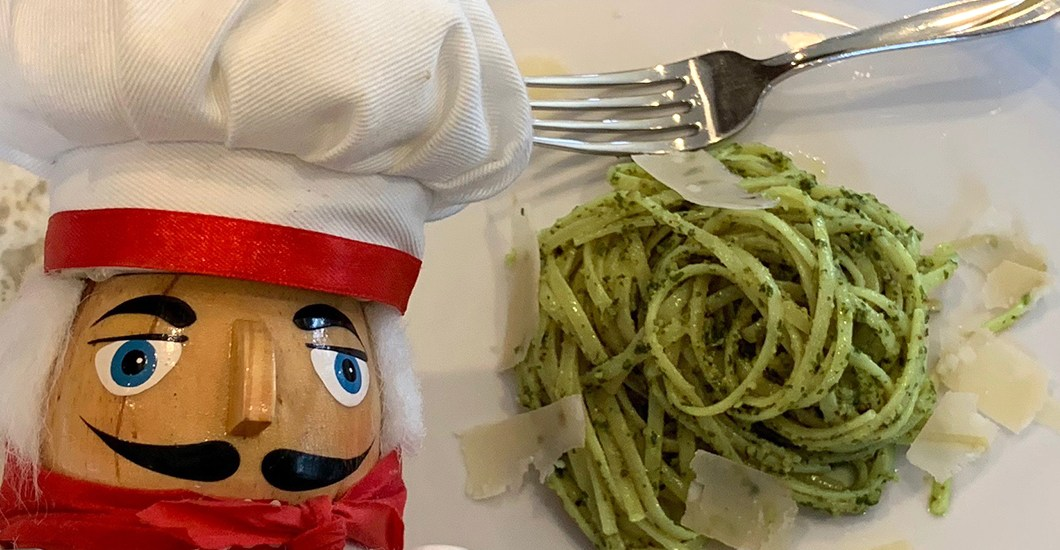 Stinging Nettle & Walnut Pesto