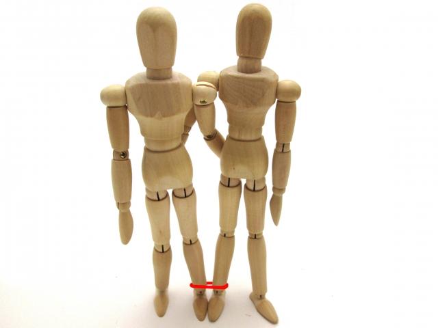 トレードコーチング用二人三脚の画像