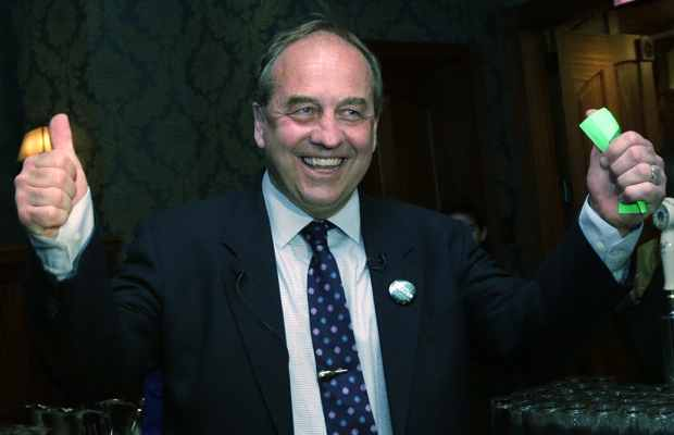 Andrew Weaver, Newly elected Green Party  MLA for Oak Bay-Gordon Head