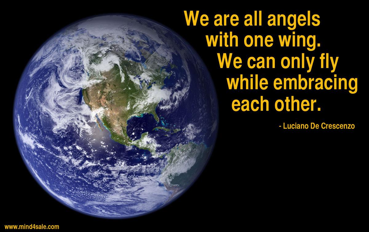 Bildergebnis für we are all one quotes