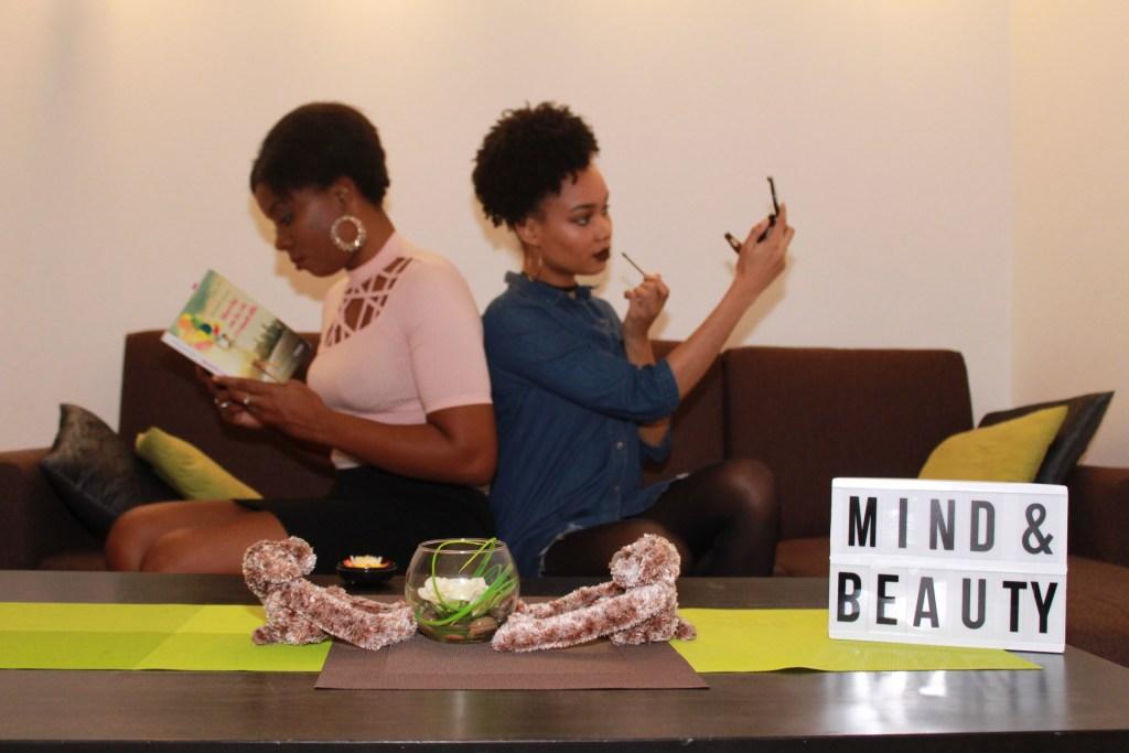 Mind & Beauty -Miimy et Tia dans leurs activités respectives