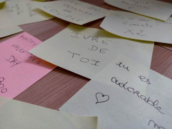Mindandbeauty - Jeu du post-it en couple : post-it Ivre de toi