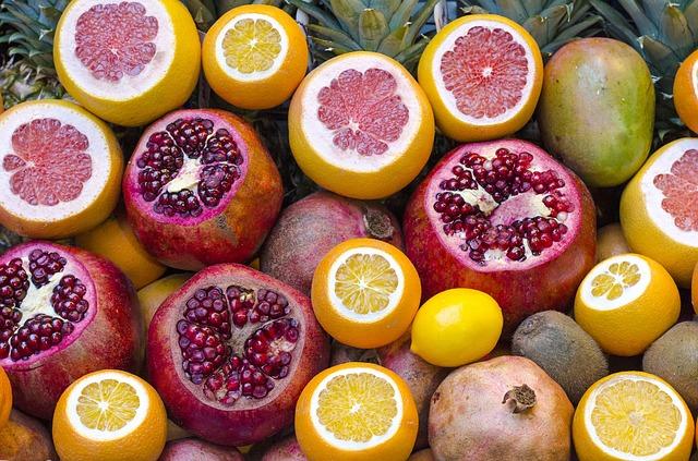 Pour vous booster manger des fruits, sources de vitamines