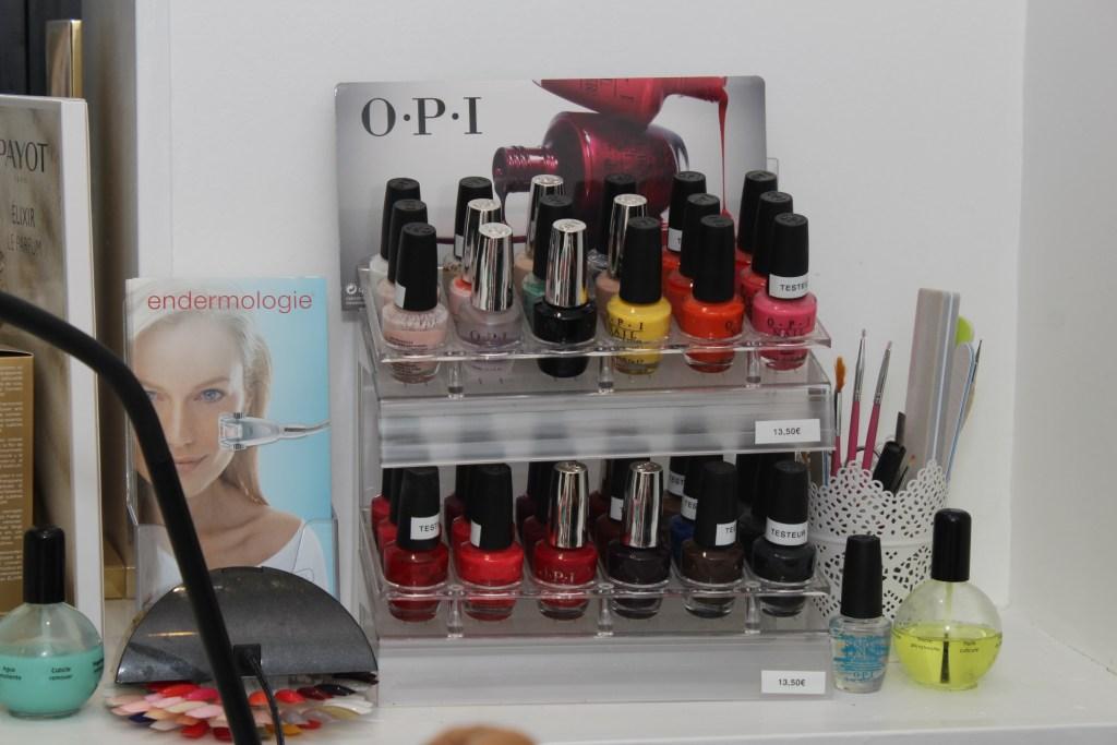 Mind & Beauty - Institut Kaleis : Vernis OPI