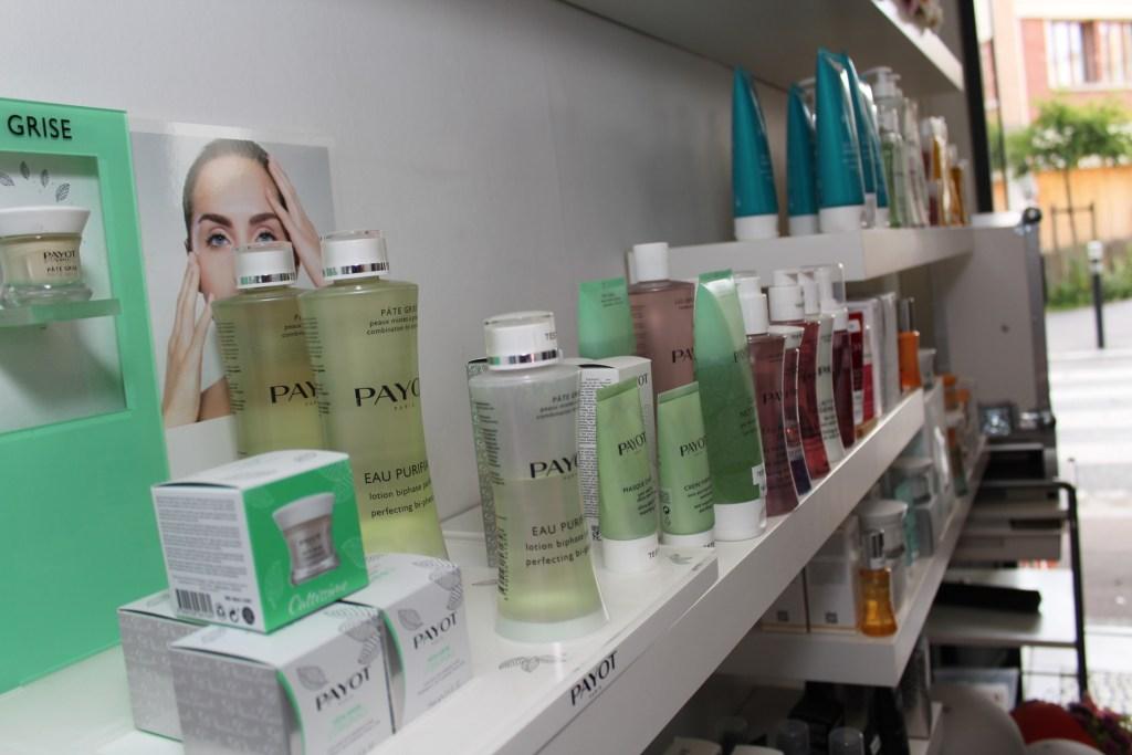 Mind & Beauty - Institut Kaleis : Présentoir à produit Payot