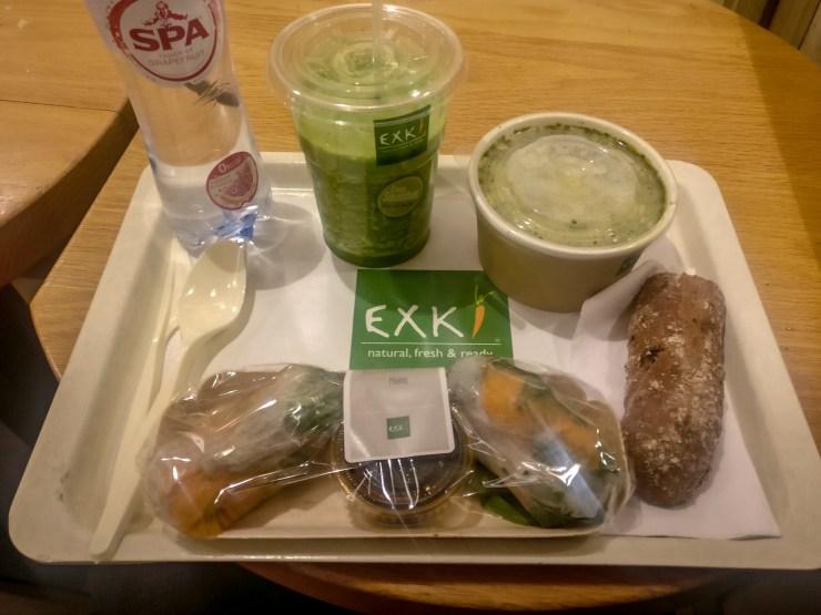 Mind & Beauty- Exki ou comment bien manger à l'exterieur : Repas avec rouleaux de printemps