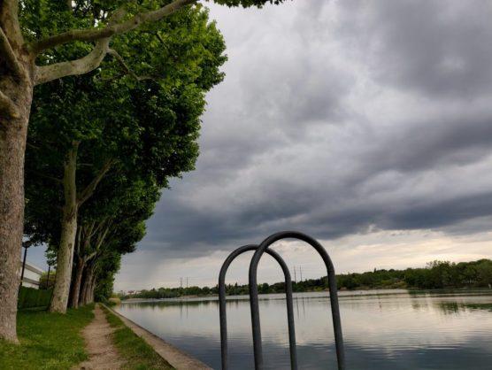 Mindandbeauty - Balade au lac de Créteil : Echelle et allée d'arbres