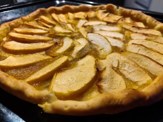 Mind & beauty - Recette tarte aux pommes healthy : Résultat