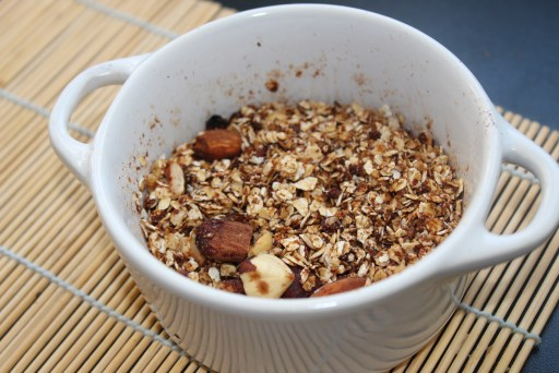 Mind and Beauty - 3 recettes gourmandes au micro-ondes - Granola express