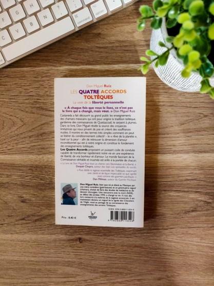 Mind and Beauty - Livre : Les 4 accords tolthèques