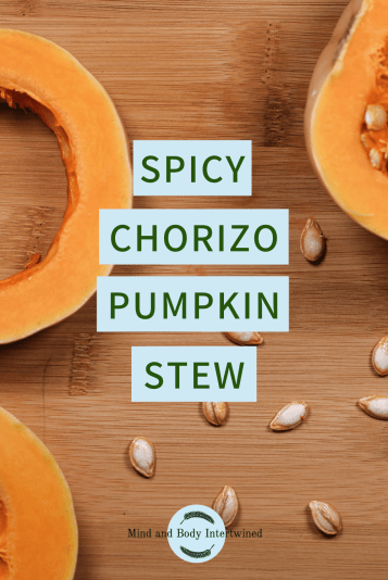 Pinterest pin chorizo pumpkin