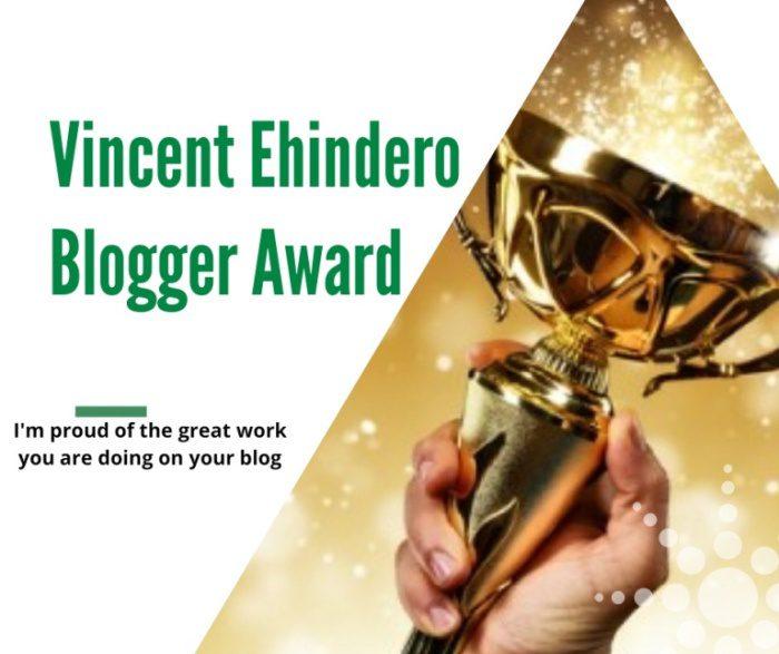 wordpress The Vincent Ehindero Blogger Awards