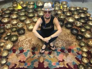Finding a Sacred Space with Singing Bowls @ Butterfly House
