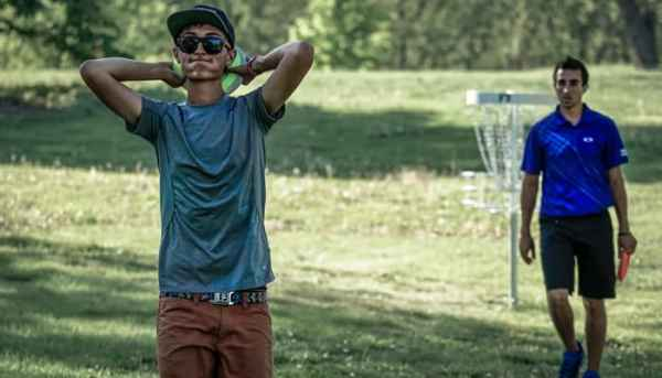 Disc Golf Under Pressure