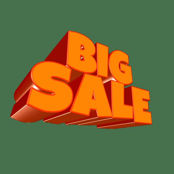 big sale for profit