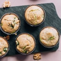 These Paleo Matcha Muffins Are Detoxifying & Energizing