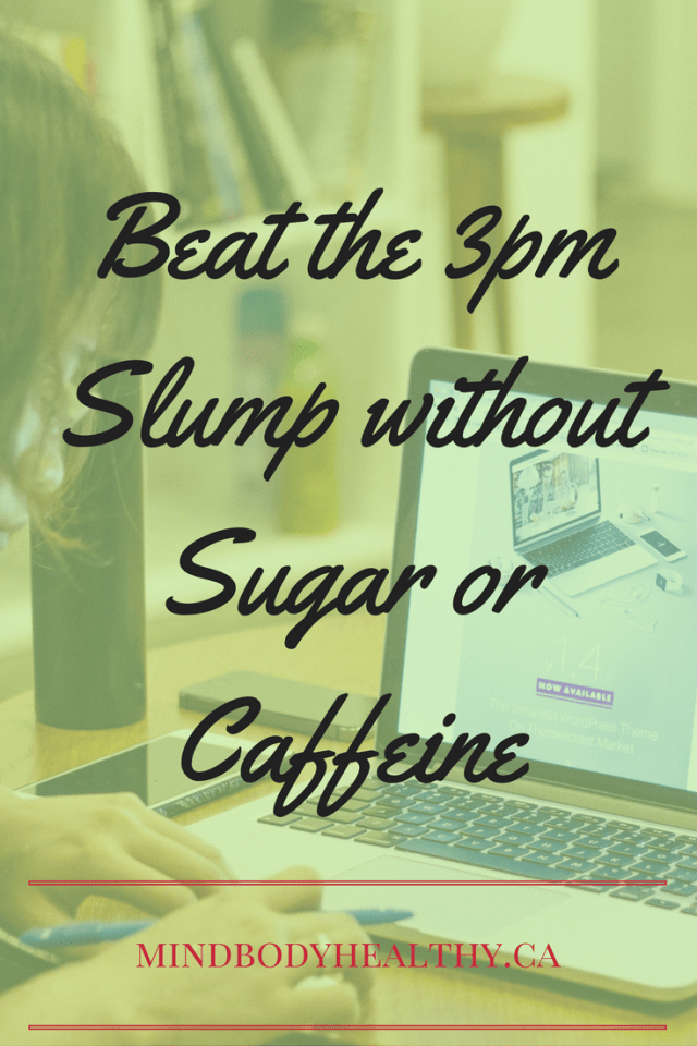 Beat the 3pm Slump Without Sugar or Caffeine