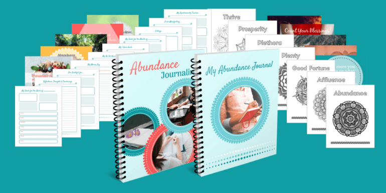 Abundance Journaling PLR Product Image - big cropped