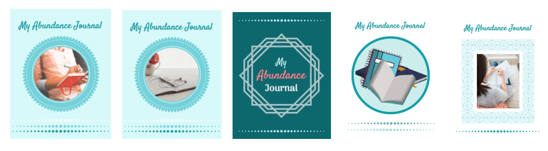 Abundance Journal Cover Page Grouping