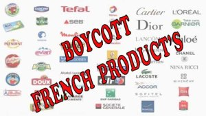 Muslims Call for Boycott of French Goods