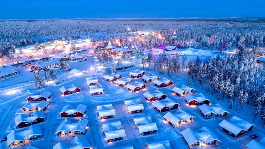 Accommodation at Santa Clause Village
