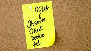 The OODA Loop – A tool for an Effective Decision Making