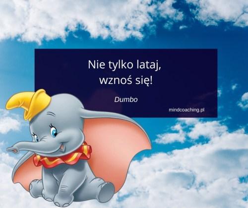 cytaty z bajek Dumbo