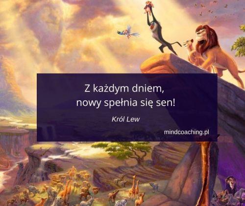 cytaty z bajek - Król Lew