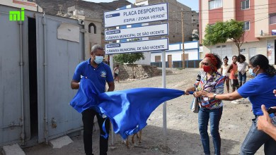 "Photo of CMSV ""oferece"" placa desportiva e praceta à zona de Espia"
