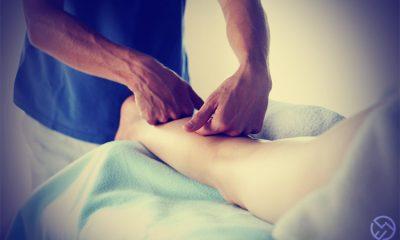 como hacer un masaje running de descarga correctamente