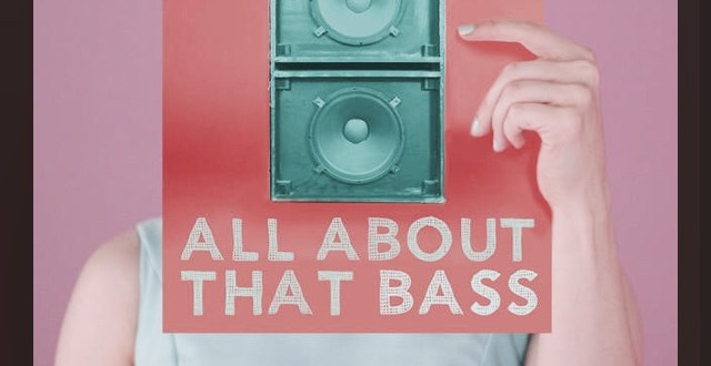 An Iphone screenshot of Meghan Trainor's All About that Base album artwork.