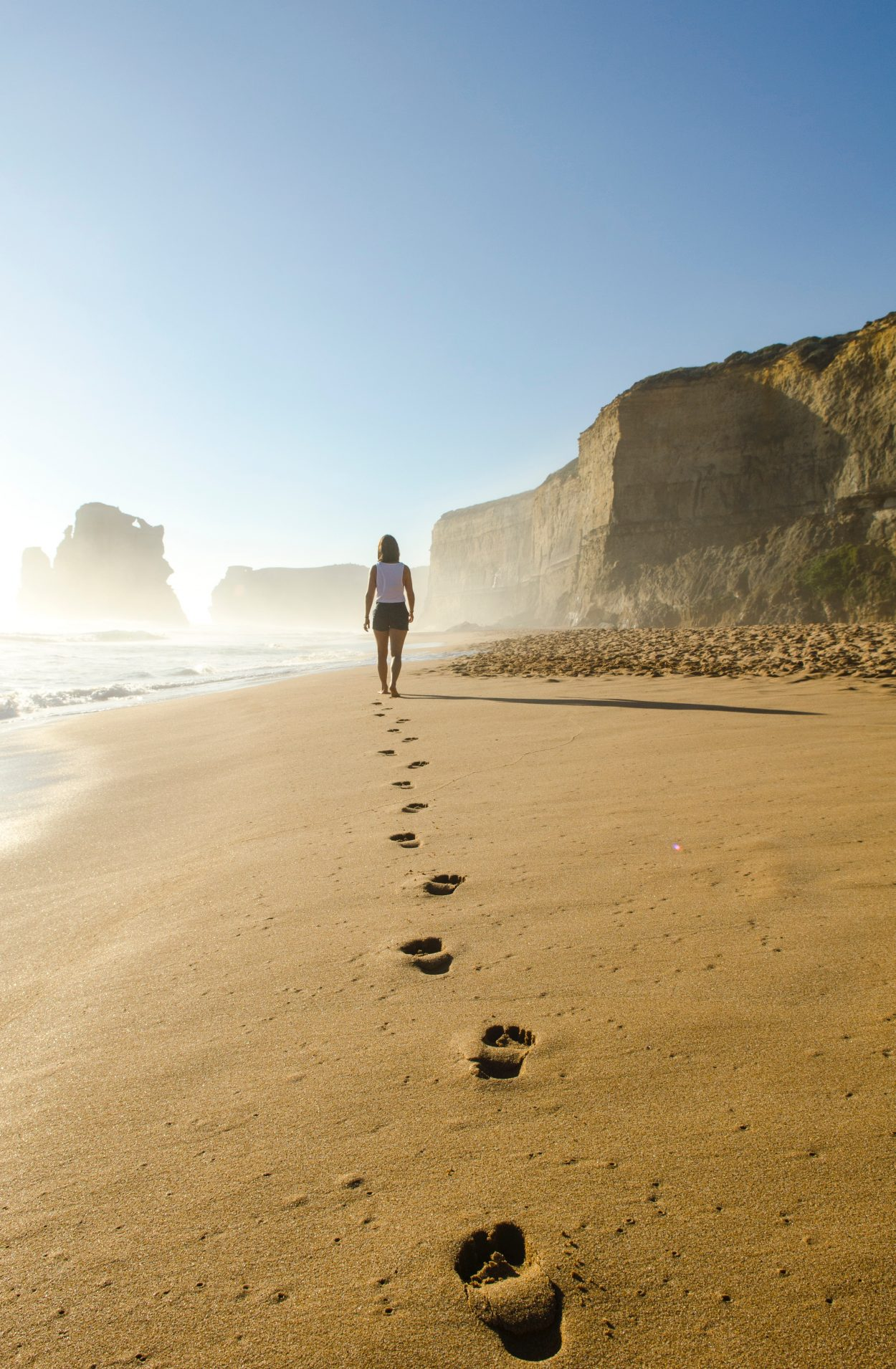 Mindful Me – Walking on the sand – prices and terms