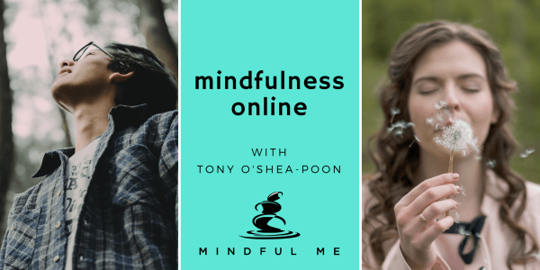 Learn Mindfulness Online with Tony O'Shea-Poon
