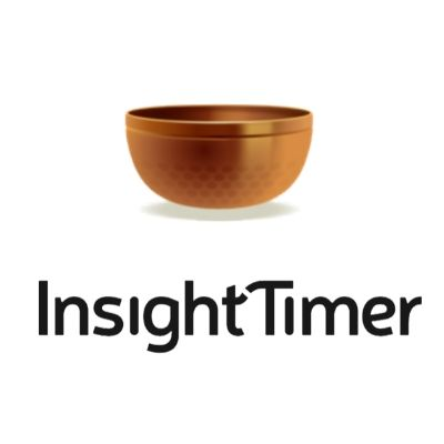 Insight Timer White Logo