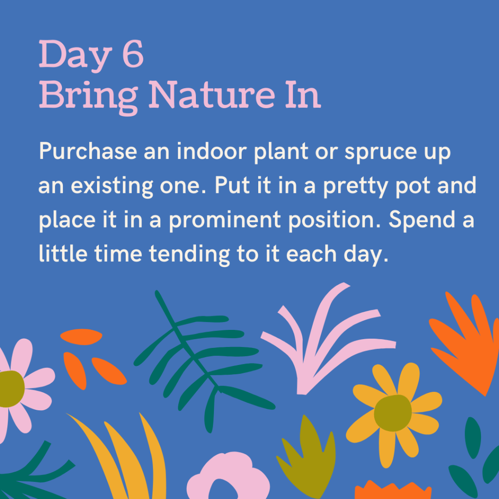 7 Days and 7 Ways to Connect with Nature - Day 6