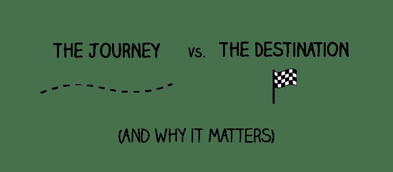 journey vs destination title mindful ambition