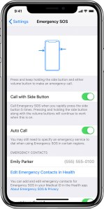 Apple SoS - Turn Off Auto Call