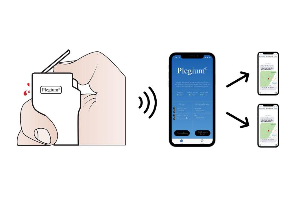 Plegium Smart Pepper Spray