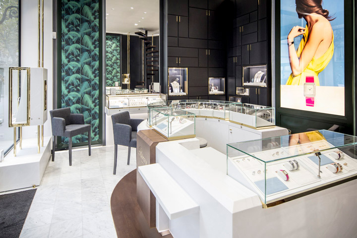Jewelry Stores Sophisticated Interior Design Commercial