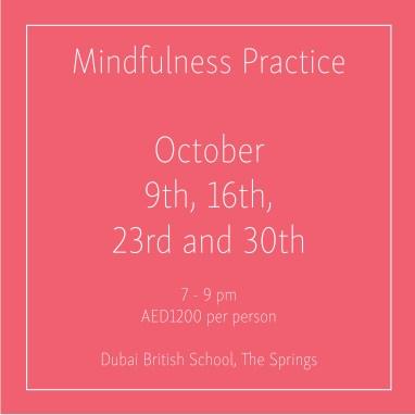 Mindfulness October_Social Media Art 1