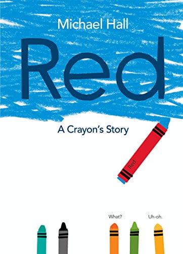 Five Books Red Crayon