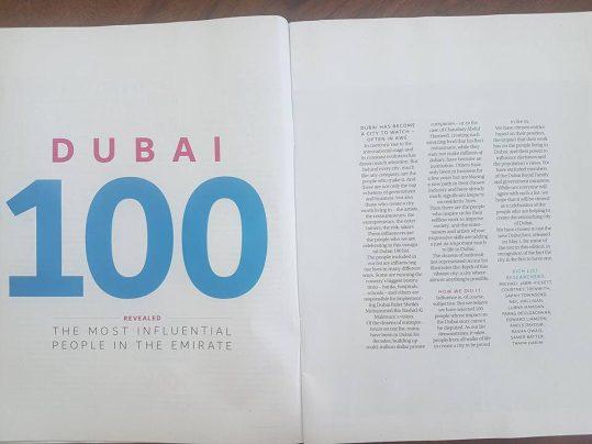 dubai 100 spread