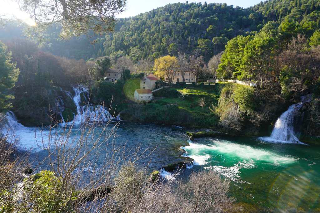 Krka near Split, Croatia