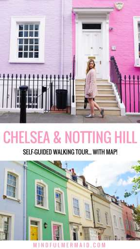Notting Hill Chelsea London Instagram spots in London